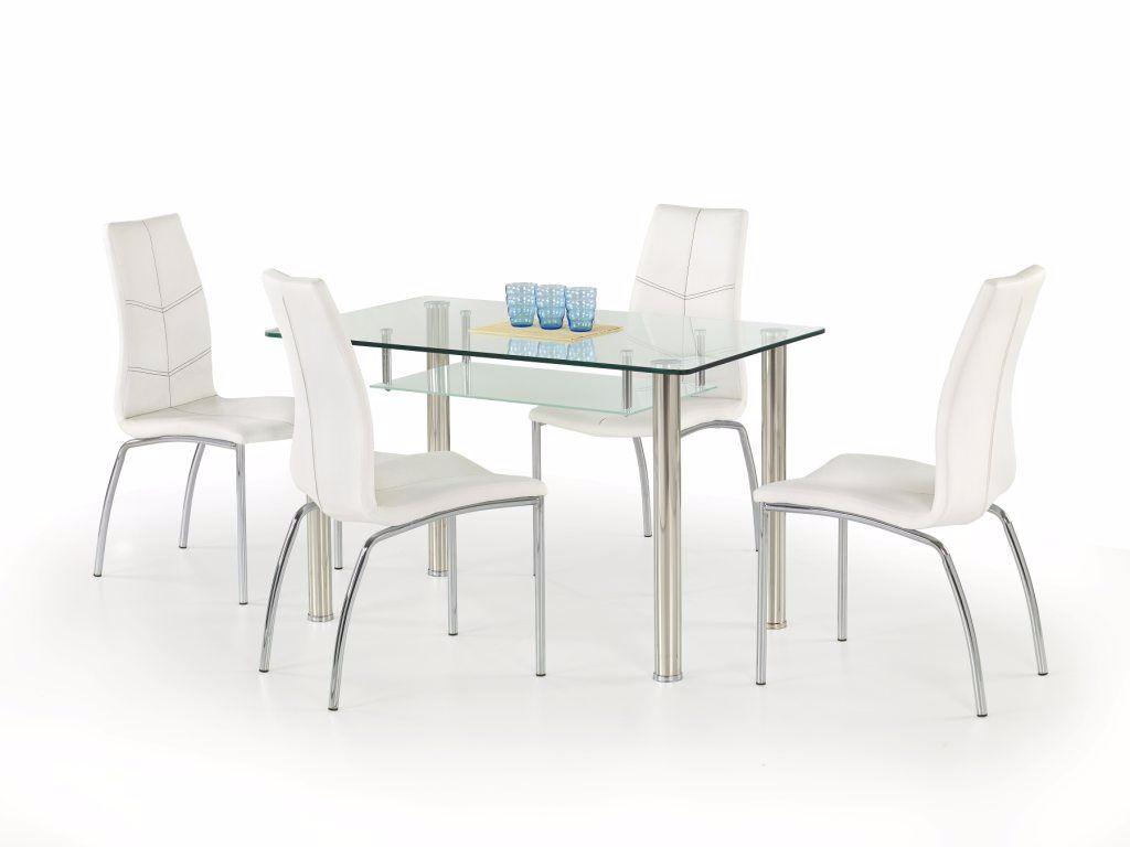 ... ACTIE Moderne eetkamerstoelen wit of zwart model Boris NU 59