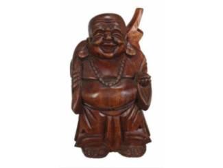 Dikbuik Houten Boeddha