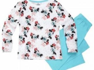Minnie Mouse Pyjama Print/Turkooise (maat 134/9 jaar)