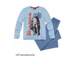 Star Wars Pyjama Lichtblauw (134/9 jaar)AANBIEDING!