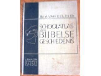 Schoolatlas voor bijbelse geschiedenis 1934 - Van Deursen