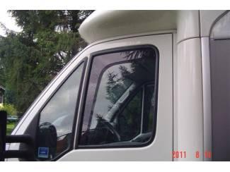 Camper zijwindschermen pasvorm kampeerbus oa Ducato Transit