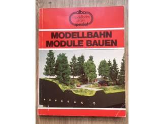 Modellbahn module bauen - Rieche