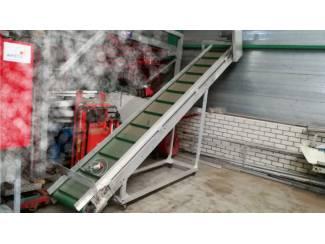 Aluminium vuil afvoerband
