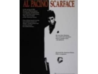 Poster Al Pacino , Scarface - Tony Montana (W)