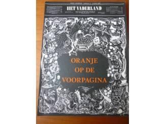 Oranje op de voorpagina - F. Lammers