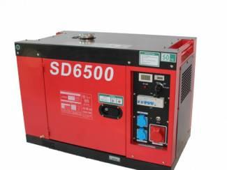 Javac 6,3 KVA - Generator - Kwaliteit - Gedempte kast