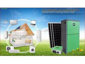 Javac Off-grid systeem tot 20 kw - Zonnepanelen