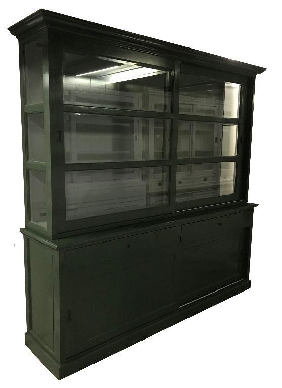 Buffetkast Lisse Oijf groen - groen 240 x 220cm