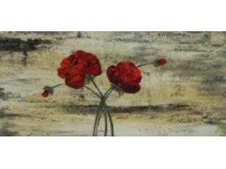 Bloemen Schilderij Klaproos Aronskelk