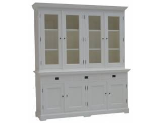 Buffetkast Lijnden wit - wit 190 x 50/40 x 220cm
