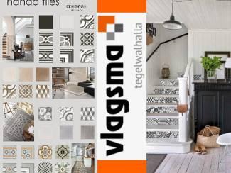 13x13 cm Nanda Tiles Ouderwetse Witjes Nieuw Gemaakt