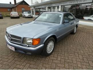 Belgische Mercedes 560 sec Oldtimer