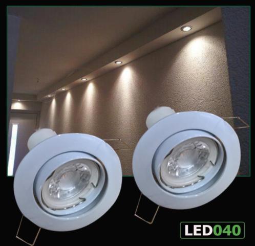 Aanbieding led inbouw spotjes 5 watt dimbaar 220 volt lampen for Lampen 34 volt 3 watt