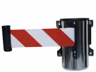 Veiligheidslint rood/wit Afzetpalen voor doorgangen en wegen