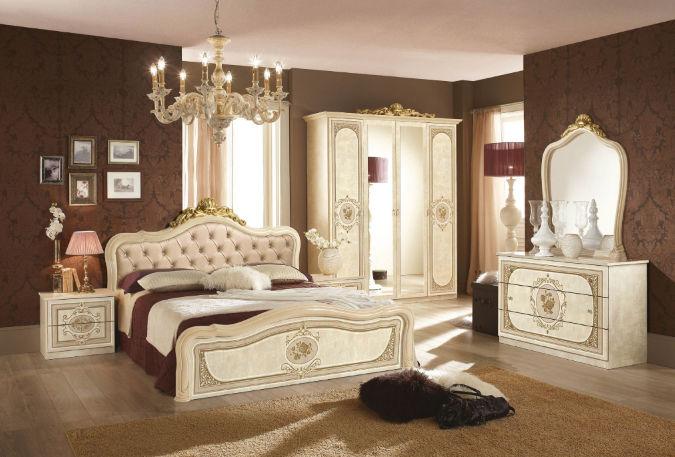 Barok Slaapkamer Meubels : Italiaanse klassiek barok slaapkamer alice in gouda slaapkamer