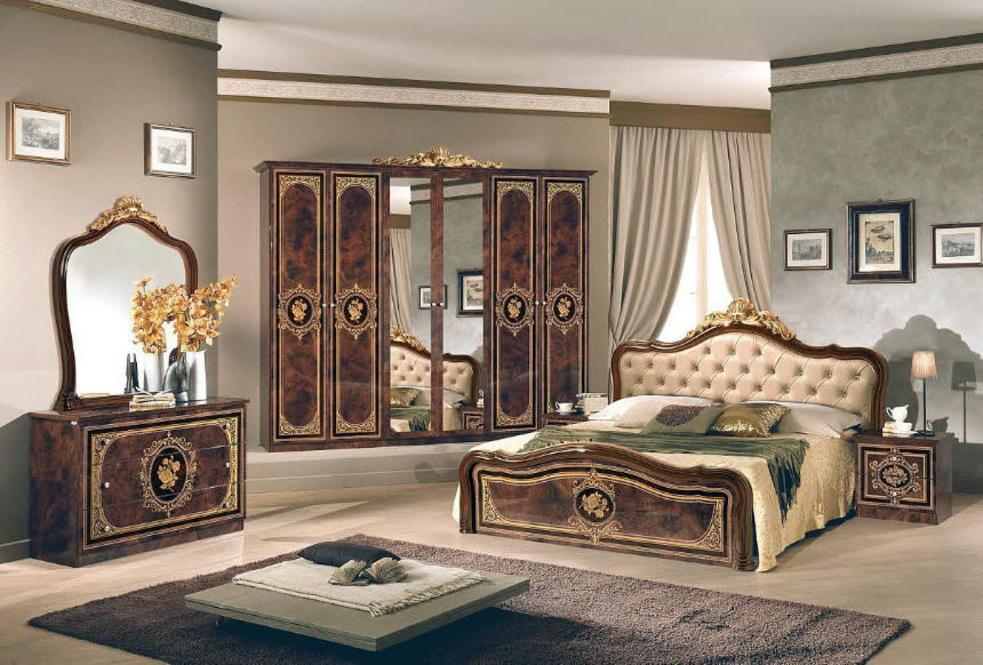 100% Italiaanse Klassiek Barok Slaapkamer Alice in Gouda : Slaapkamer