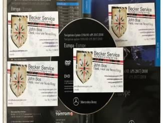 Mercedes Comand Aps DVD NTG2 Europa 2017-2018