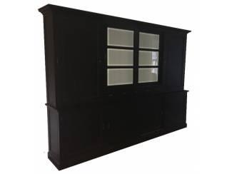 Buffetkast XL zwart - wit 310 x 50/40 x 230cm