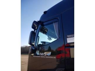 Gamma T windschermen raamspoilers getint pasvorm
