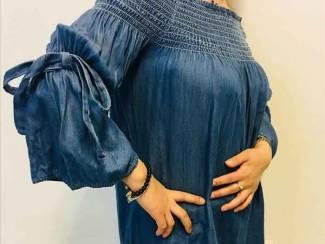 Kleding Tuniek/Kleedje Jeans (1 maat =voor maat 36 tot 40)
