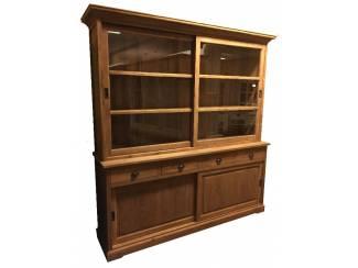 Teak houten buffetkast schuifdeuren 200 x 220cm