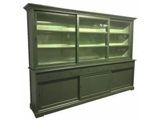 Buffetkast XL olijfgroen - groen 300 x 220cm