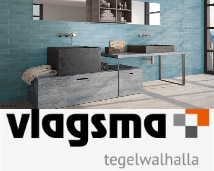 Wandtegels Badkamer Blauw : Blauwe landelijke wandtegels cm badkamer en toilet