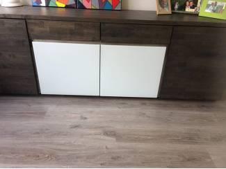 mooi dressoir donker bruin 4 kastjes veel ruimte