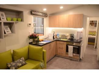 Stacaravans Te koop luxe wintervast chalet Lark Leisure Homes Chios 11m