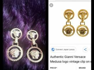 Oorbellen Gianni Versace medusa oorbellen