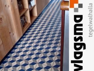 Blauwe Portugese Vloertegels Vives Guell 20x20 cm Kopen?