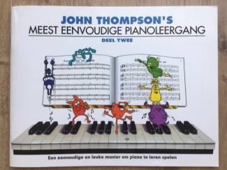 Meest eenvoudige pianoleergang - John Thompson