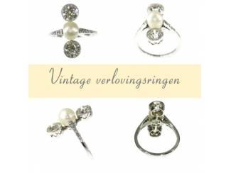 Ringen Vintage verlovingsringen met een verleden