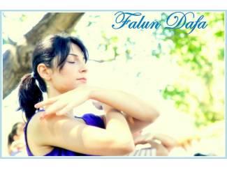 Eenvoudig leren mediteren met Falun Dafa, in Amsterdam