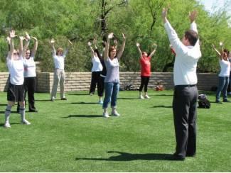 Eenvoudig leren mediteren met Falun Dafa, in Den Haag