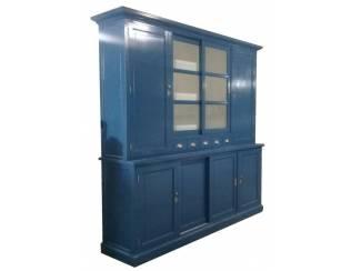 Buffetkast Gieten konings blauw 240 x 50/40 x 230cm
