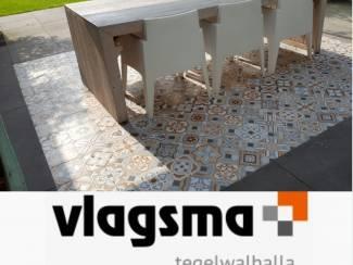 Kleurige Portugese Tegels Musichalls 20x20 cm Vives Goedkoop
