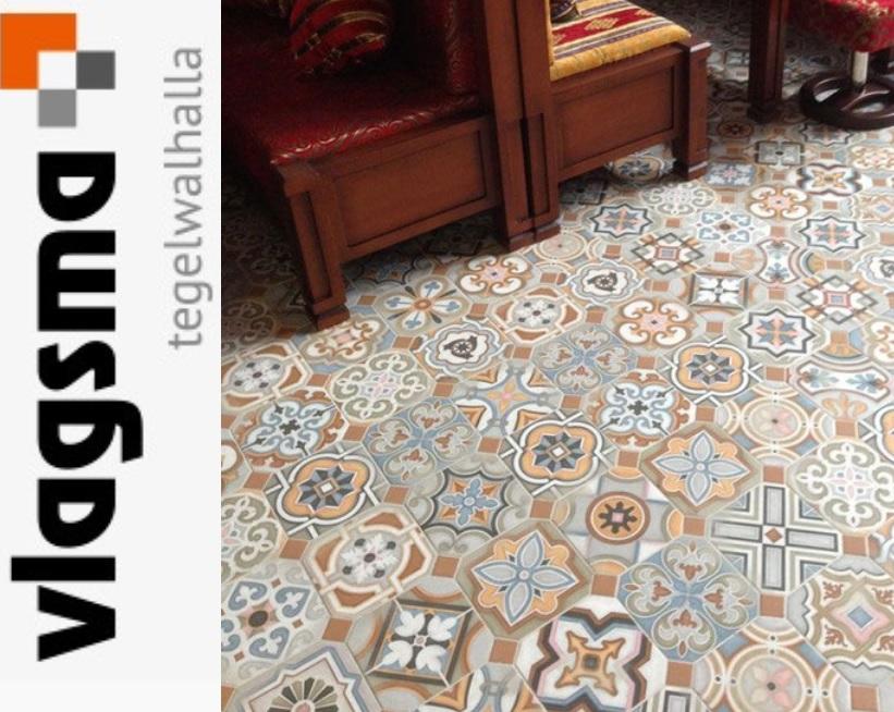 New Kleurige Portugese Tegels Musichalls 20x20 cm Vives Goedkoop : Tegels &QY15