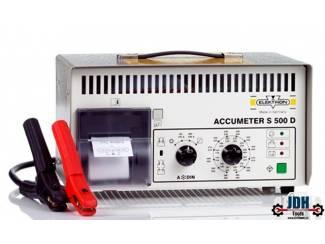 Elektron S500-D Professionele batterijtester met printer
