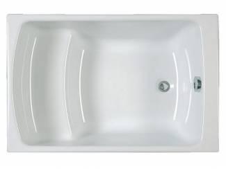 Sanifun Allibert Flavis inbouw zitbad 105 x 70 x 37,5.