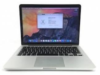 MacBook Retina 13 inch refurbished 999,-