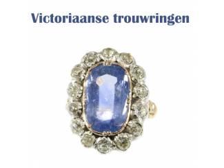 Originele trouwring uit het Victoriaanse tijdperk