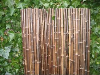 Bamboe rolscherm Black H100 x L180 cm