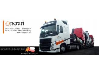 Voertuigen, machines vervoer. Internationaal transport