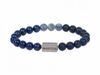 Exclusieve en luxueuze Beaded Designer Bracelets voor mannen.