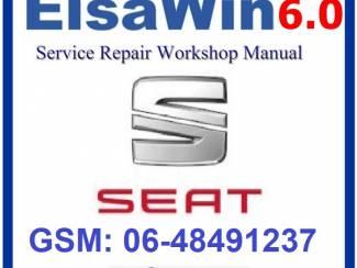 SEAT ELSAWIN 6.0 versie 2018 Werkplaats Software op 8GB USB