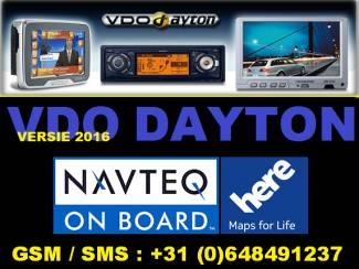 VDO DAYTON 2016 Navigatie (13xcd) set Europa div Automerken
