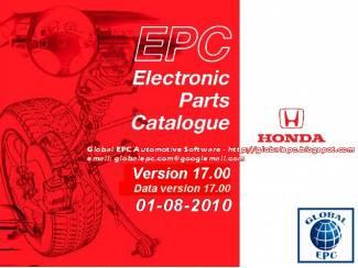 HONDA EPC 2015 Onderdelen PARTS Software incl Prijzen