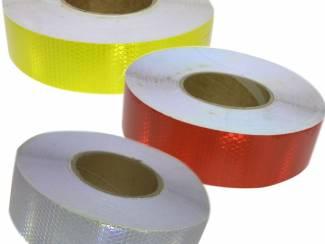 Reflecterende tape per meter verkrijgbaar
